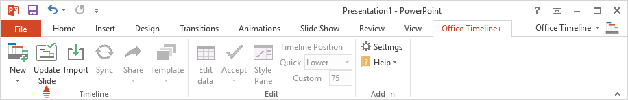 How To Create Save And Share Custom Templates Office Timeline