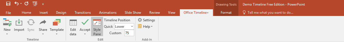 what is office timeline