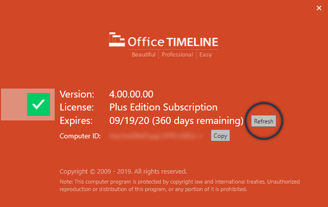 refresh-office-timeline-license-key.png